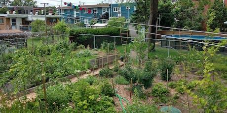 Visite commenté d'une Forêt Nourricière urbaine! (Visite du matin) billets