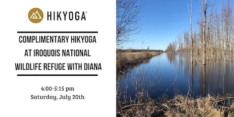 Complimentary Hikyoga ® Iroquois National Wildlife Refuge with Diana tickets