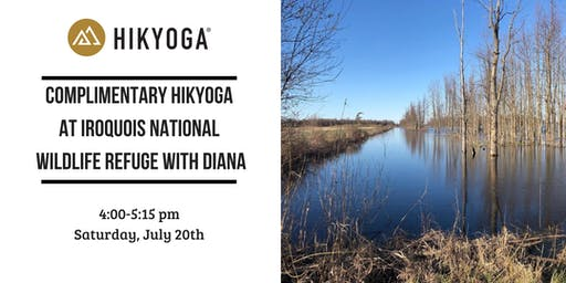 Complimentary Hikyoga ® Iroquois National Wildlife Refuge with Diana