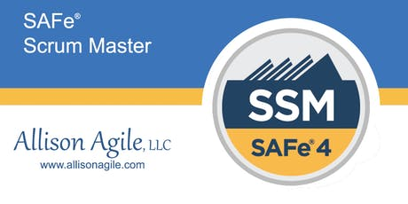 (WILL RUN!) SAFe 4.6 Scrum Master Certification - Dallas, TX (Nov 4/5) tickets
