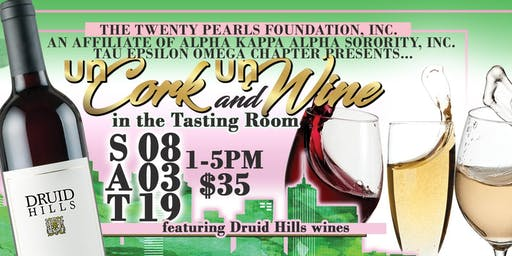 unCork and unWine in the Tasting Room: Wine Tasting Event - SOLD OUT