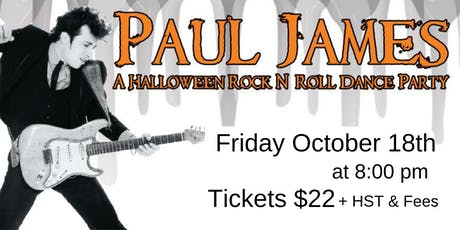 Paul James - A Halloween Rock N' Roll Dance Party tickets