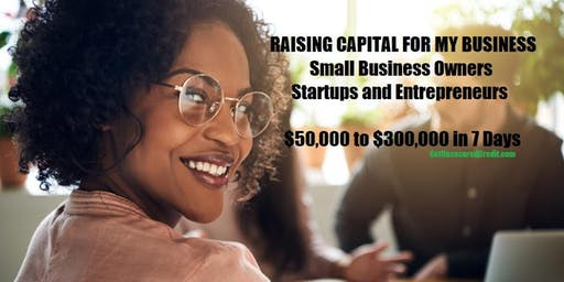 Raising Capital for My Business - Detroit, MI