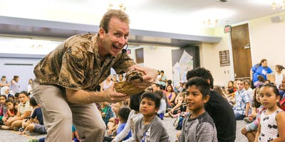 Reptile and Amphibian Show at Ponderosa Joint-Use Branch