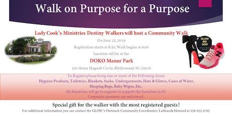 GLOW Destiny Walkers Community Walk tickets