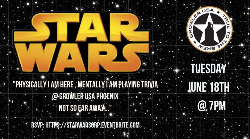Star Wars Trivia at Growler USA Phoenix