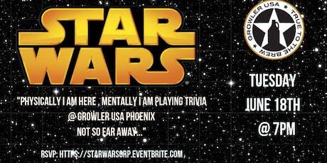 Star Wars Trivia at Growler USA Phoenix tickets