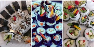 Make Your Own Sushi - a vegan cooking class