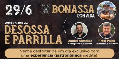 Workshop Desossa e Parrilla (Carnes & BBQ) ingressos