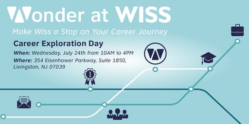 Wonder At Wiss: Career Exploration Day