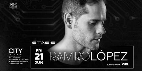 Ramiro Lopez at City At Night : Stasis tickets