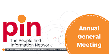 PIN - The People and Information Network Annual General Meeting 2019 tickets