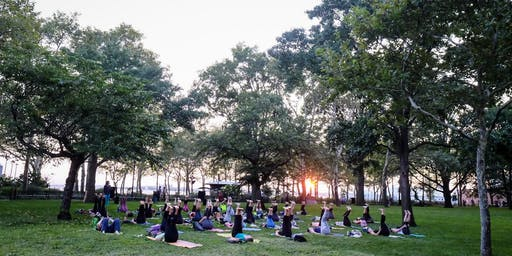 Yoga in The Battery 2019