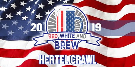 Red, White & Brew - Hertel Crawl tickets