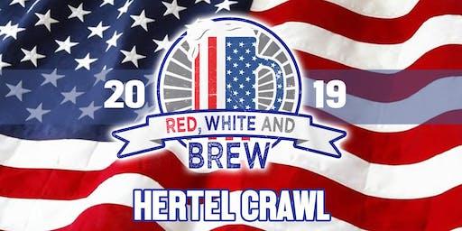 Red, White & Brew - Hertel Crawl