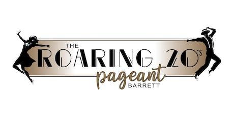 Roaring 20's Barrett Pageant tickets