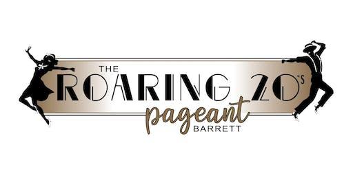 Roaring 20's Barrett Pageant