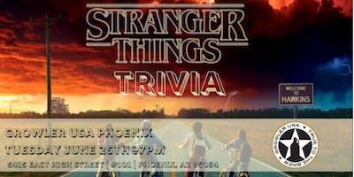 Stranger Things Trivia at Growler USA Phoenix