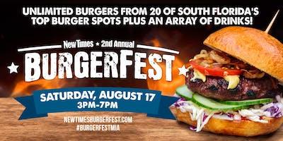 2019 Miami New Times Burgerfest