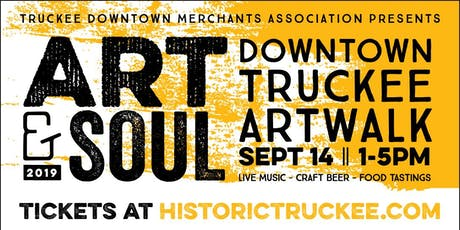 Art & Soul ArtWalk 2019 tickets