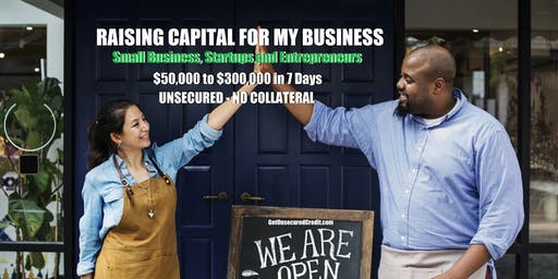 Raising Capital for My Business - Atlanta, GA