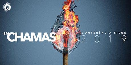"""Conferência  """"Em Chamas"""" ingressos"""