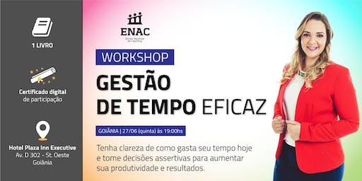 WORKSHOP GESTÃO DE TEMPO EFICAZ