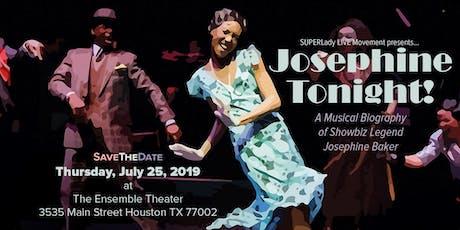 The LIVE Musical Story of Legendary Josephine Baker tickets