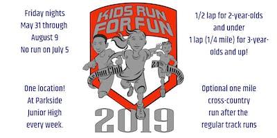 2019 Lake Run Club Kids Run for Fun