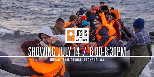 Jesus in Athens in Spokane