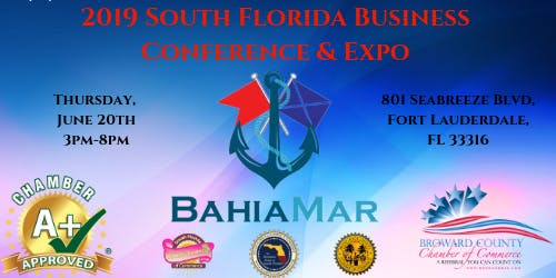 South Florida Broward County Business Expo June 20th, 2019