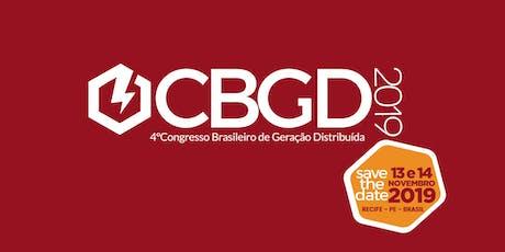 CBGD - Congresso Brasileiro de Geração Distribuída ingressos