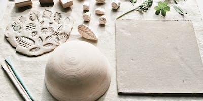 Hand-Built Ceramic Bowl by Hannah Desch