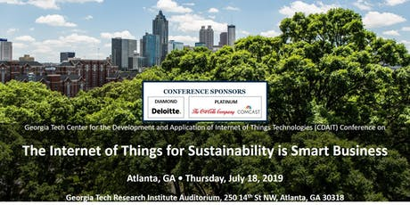 The Internet of Things for Sustainability is Smart Business Conference tickets