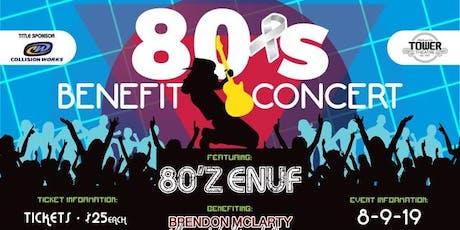 80's Benefit Concert tickets