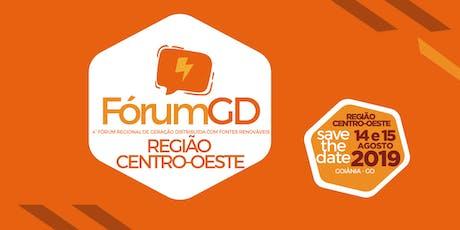 FÓRUM GD REGIÃO CENTRO OESTE ingressos