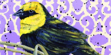 Musical Birds: Integrating Paper and Paint with Terra Simieritsch  tickets