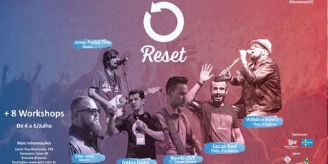 RESET - Semana LIVE ingressos