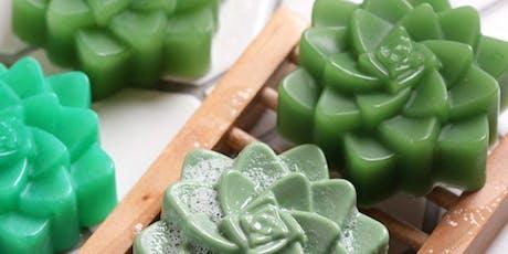 Succulent Melt -N-Pour Soap Workshop tickets