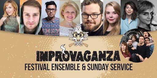 IMPROVAGANZA 2019: The Festival Ensemble & The Sunday Service