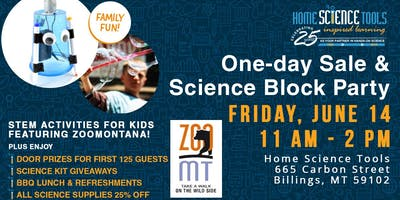 Home Science Tools Celebrates 25 Years with Massive One-Day Sale  & Science