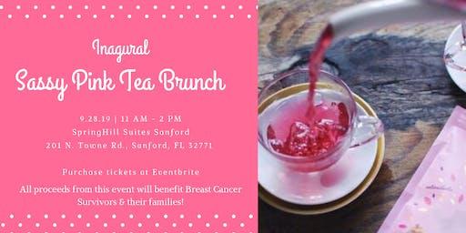 Inaugural Sassy Pink Tea Brunch