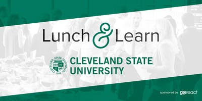 Cleveland State + GoReact Lunch and Learn