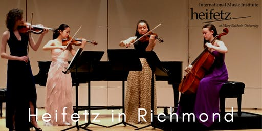 Heifetz Festival of Concerts: Heifetz in Richmond (07/21/19)
