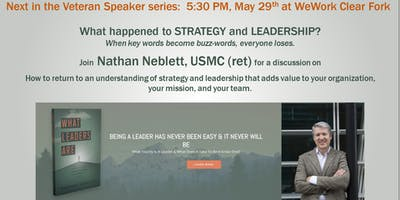 An Evening of Strategy & Leadership with Author Nathan Neblett