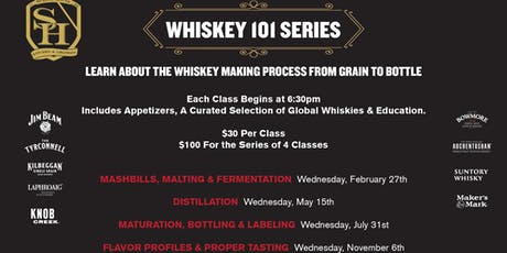 Whiskey 101 @ School House Kitchen & Libations tickets