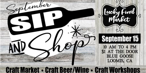 Sip And Shop at Lucky Find Market