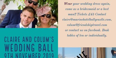 Claire & Colum's charity Cancer Ball