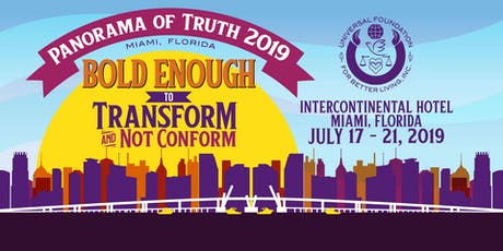 Universal Foundation for Better Living's Panorama of Truth 2019 tickets