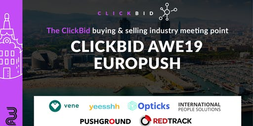 ClickBid AWE19 - EuroPUSH